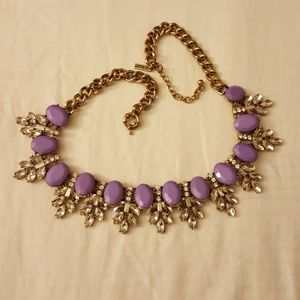 Jewelmint Purple Gem Necklace